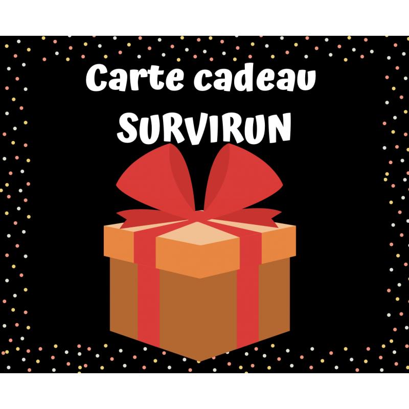 Carte cadeau-bon d'achat SURVIRUN