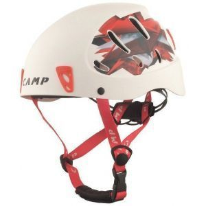 Casque Armour Large white/red- Camp