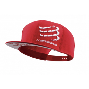 Flap cap red Compressport